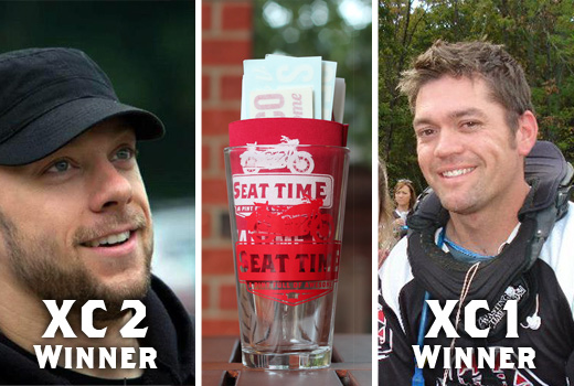 Seat Time Prize Pack Winners