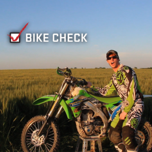 Cody Beck Seat Time Bike Check : 2013 KX 450F