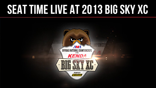 Seat Time Live at 2013 Big Sky XC