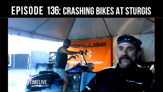 Offroad Podcast : Crashing Bikes at Sturgis