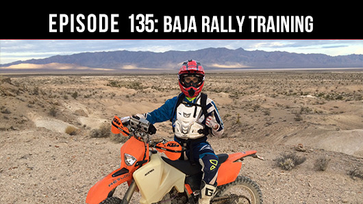 Offroad podcast about Baja Rally Training