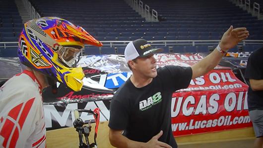 Destry Abbott teaching Endurocross Rookie Class