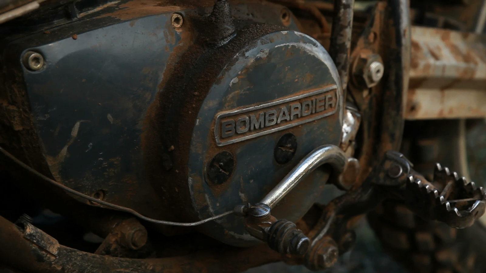 bombardier engine casing