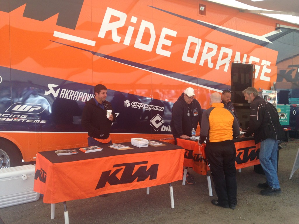KTM Demo Rides at the Adventure Rally