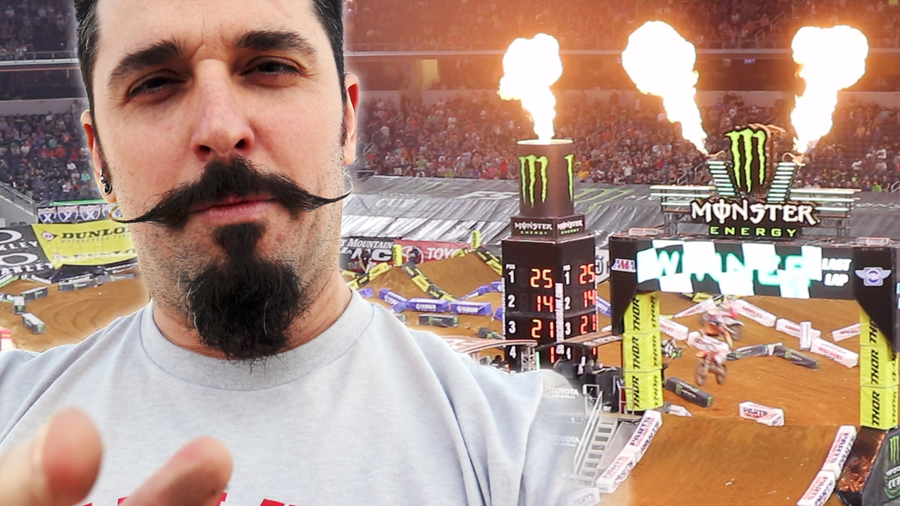 dallas supercross arlington supercross yammie noob brian pierce