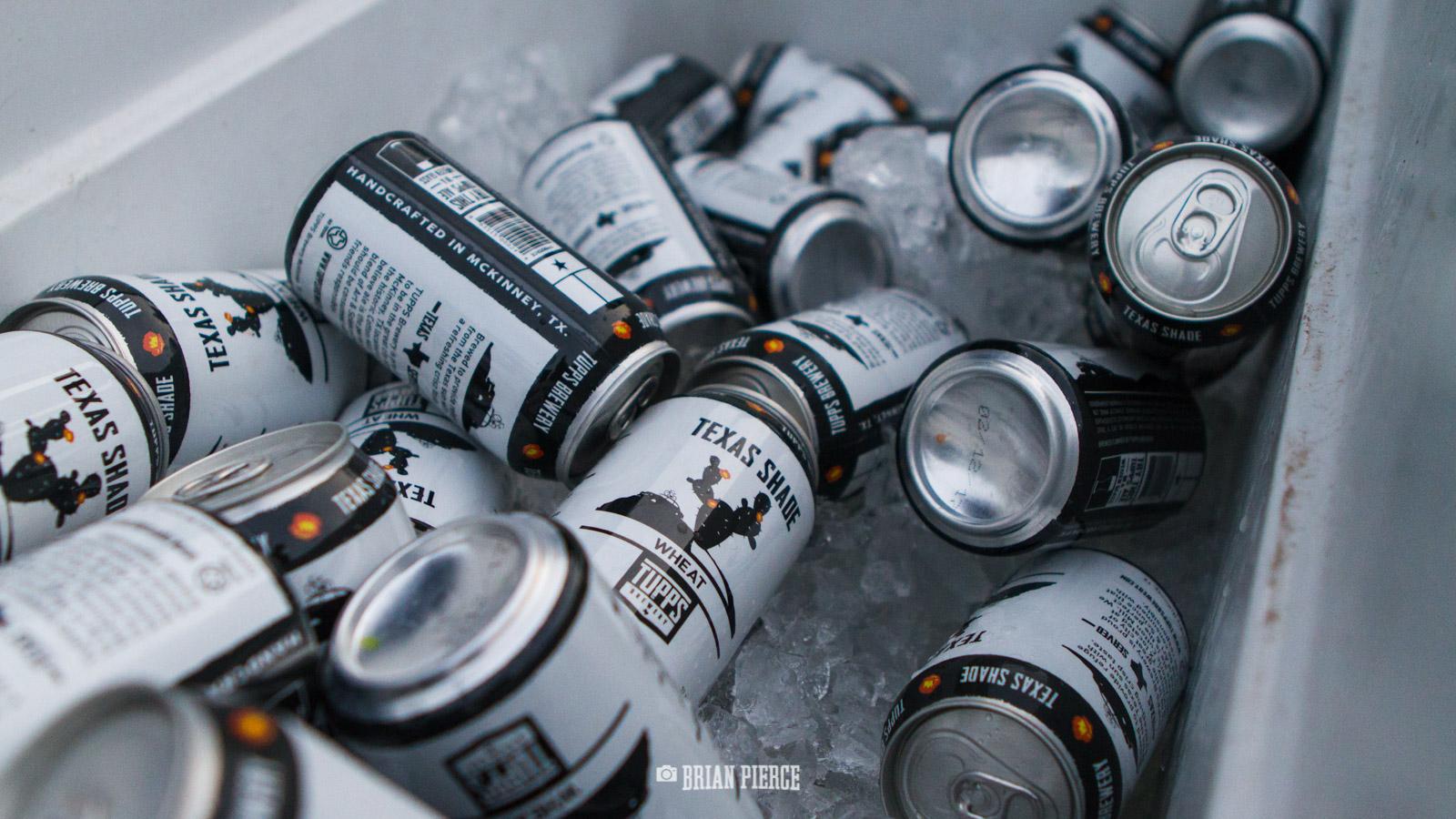 Tupps Beer, lots of beer.