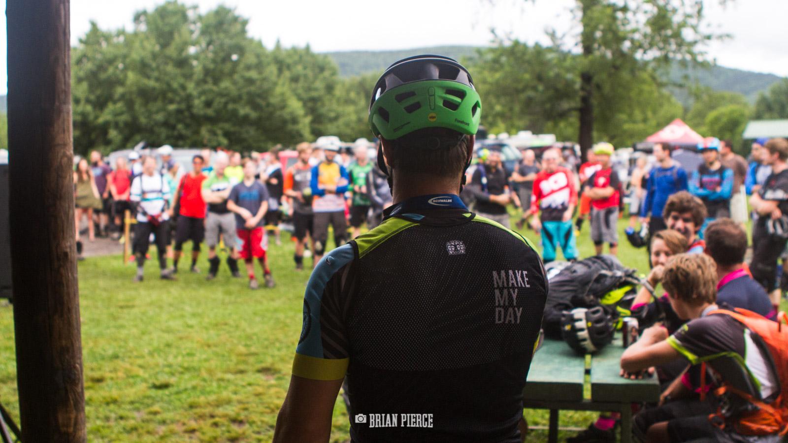 Riders Meeting.