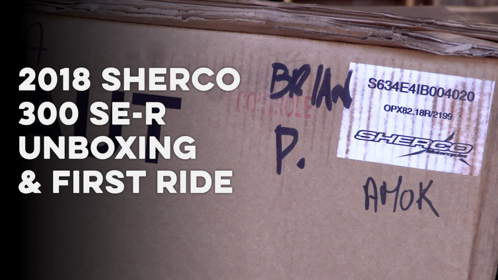 2018-Sherco-300-Unboxing-and-First-Ride-720