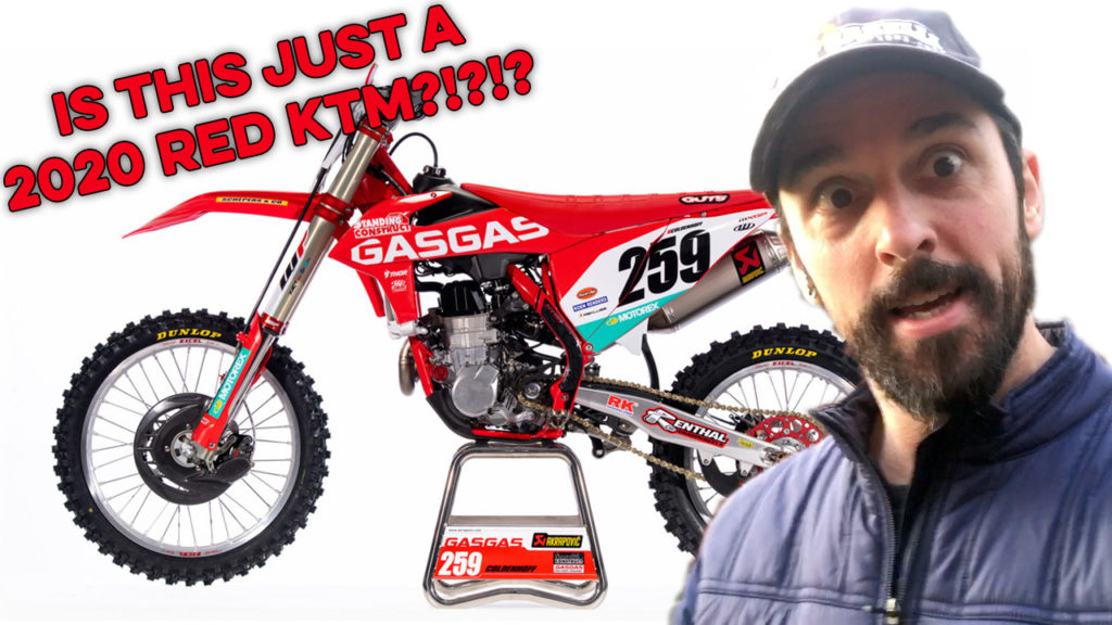 2020 GasGas looks like a Red KTM