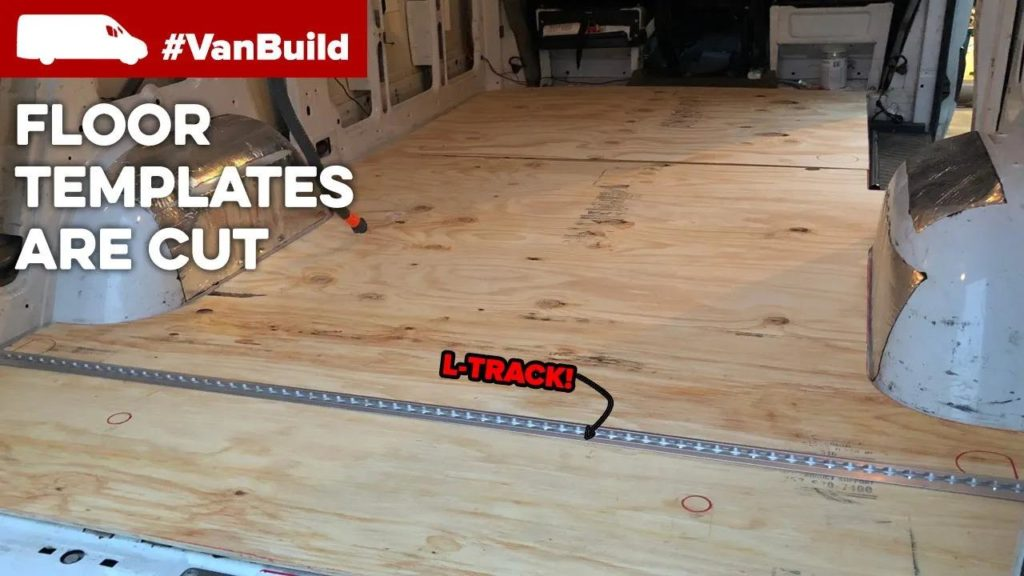 moto van build floor installation