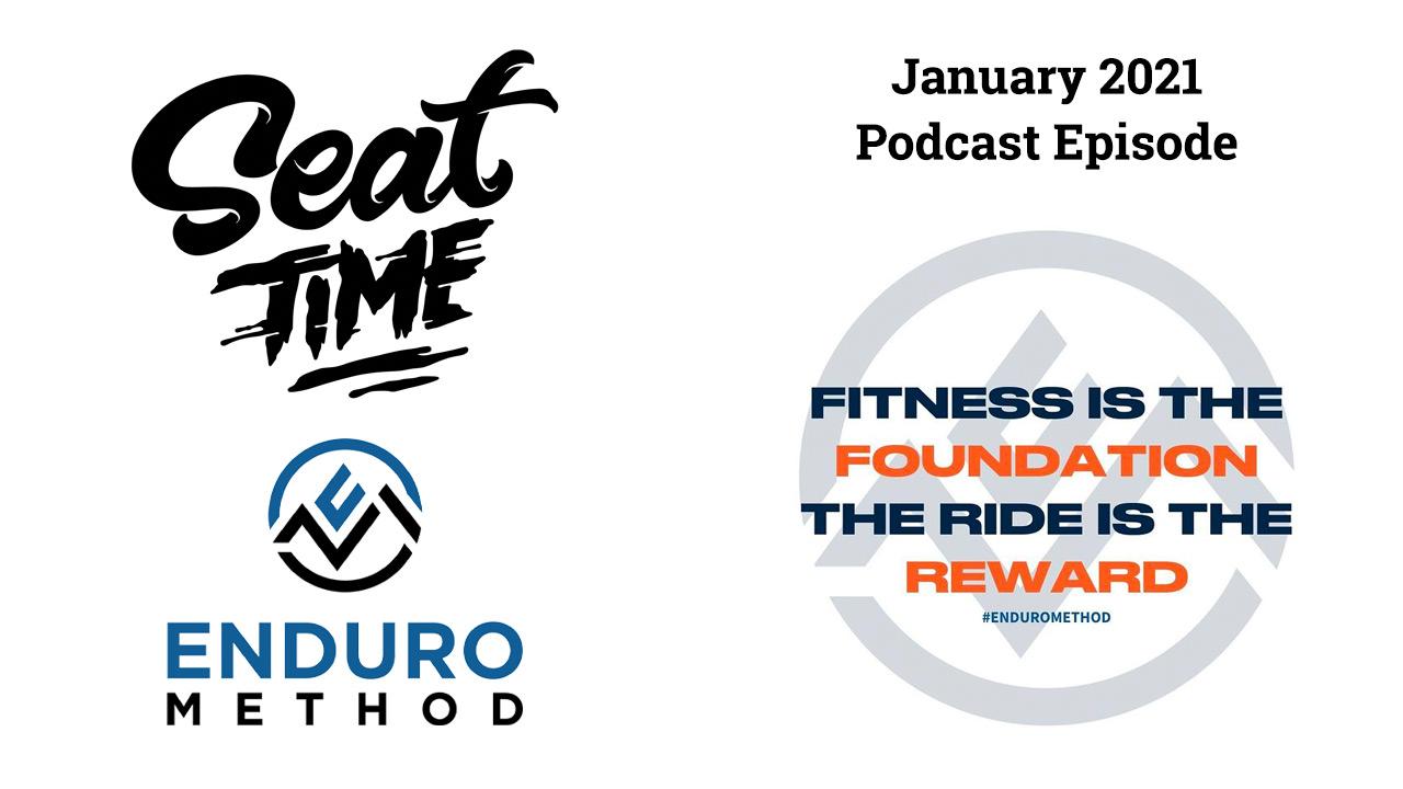 enduro method logo for seat time January podcast episode