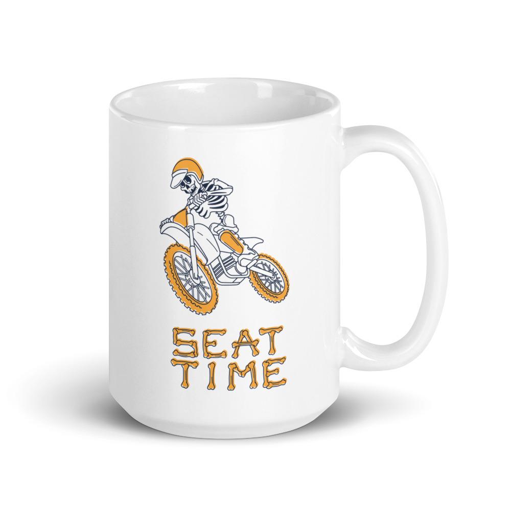 Skeleton Design on a coffee mug.