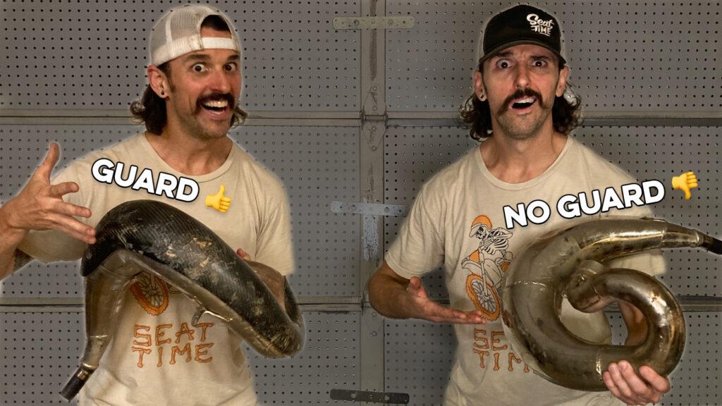Two Stroke Pipe Guard or No Pipe Guard Discussion
