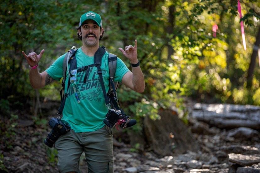 Brian Pierce of Seat Time, a dirt bike journalist.