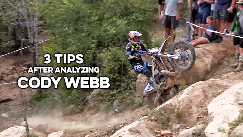 3 hard enduro tips with cody webb from the revlimiter extreme enduro