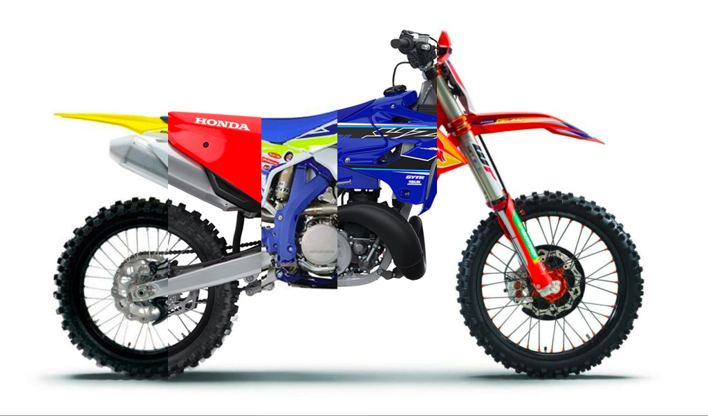 MY2021 Dirt Bike Model Comparisons