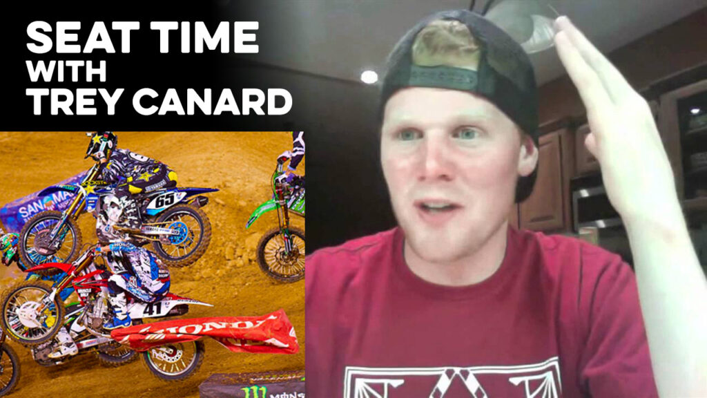 Trey Canard on a podcast.